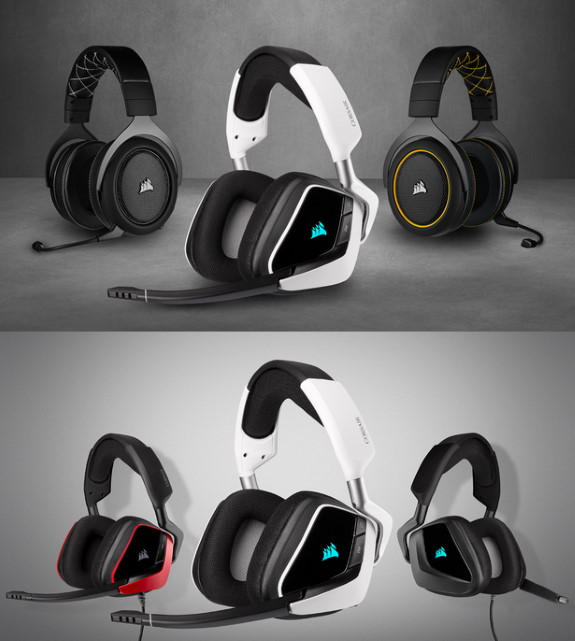 VOID ELITE and HS PRO Headsets