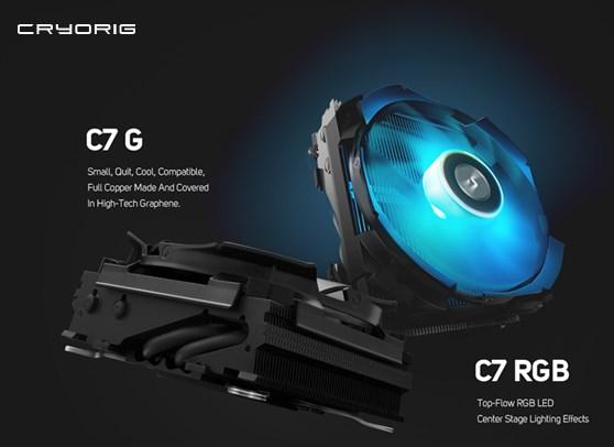 CRYORIG C7 RGB and C7 G