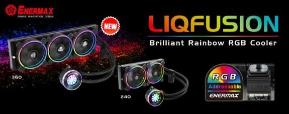 ENERMAX LIQFUSION RGB 360mm