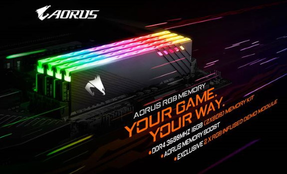 AORUS RGB MEMORY 16GB 3600MHz