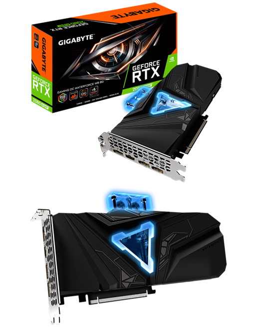 GIGABYTE Unveils GeForce RTX 2080 SUPER GAMING OC WATERFORCE WB 8G graphics card
