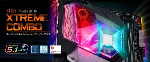 GIGABYTE Z390 AORUS XTREME WATERFORCE 5G Premium Edition