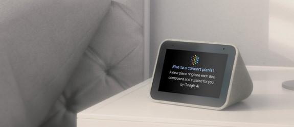 GOOG Assistant smart clock