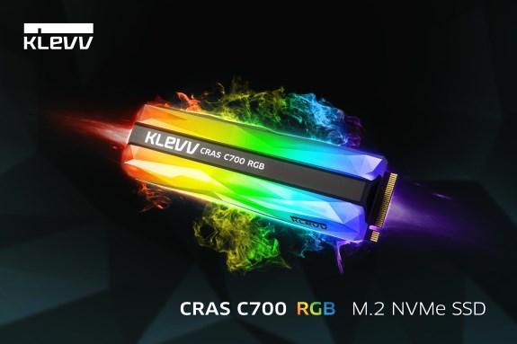 KLEVV CRAS C700 RGB NVMe M.2 SSD