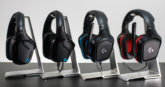 Logitech G line headsets