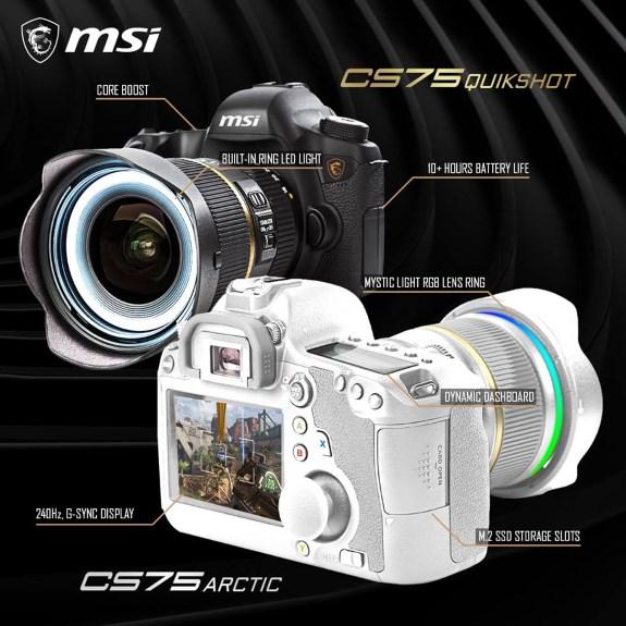 MSI CS75 QuickShot
