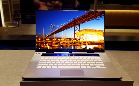 Samsung 4K OLED for laptops