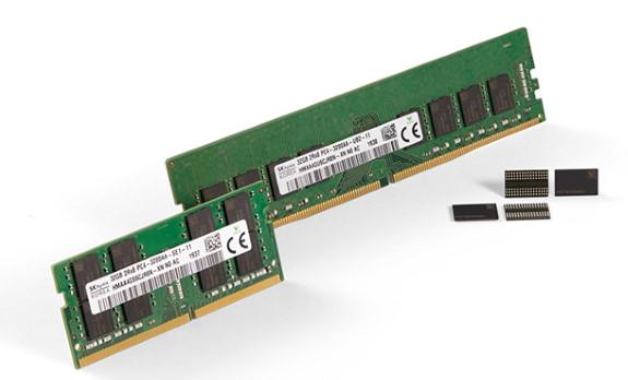 1Znm 16Gb DDR4 DRAM
