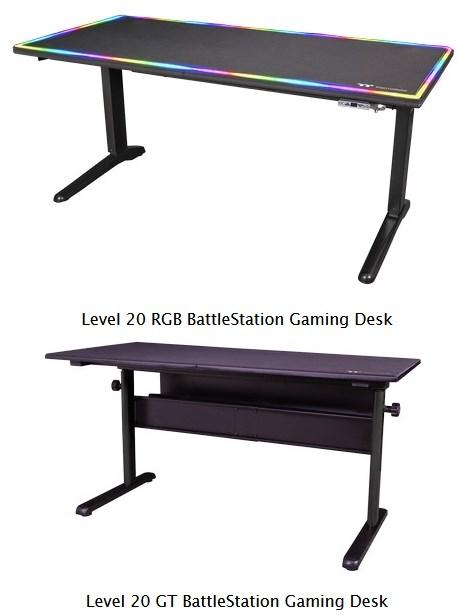 Level 20 RGB BattleStation Gaming Desk
