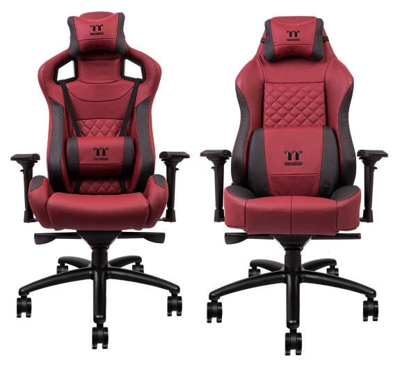 Brilliant Thermaltake Launches Real Leather X Fit And X Comfort Gaming Lamtechconsult Wood Chair Design Ideas Lamtechconsultcom