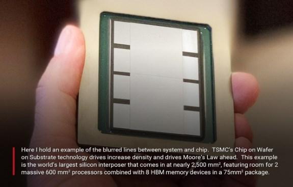 TSMC huge interposer