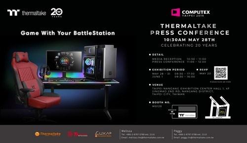 ThermalTake teases Computex lineup