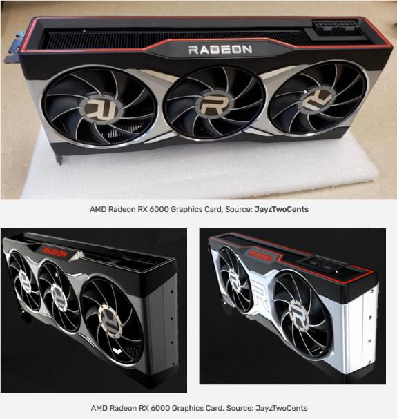 AMD Radeon RX 6000 cards