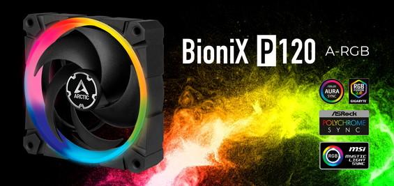 BioniX P120 A-RGB fan