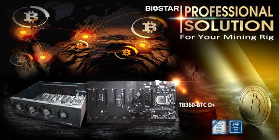 TB360-BTC D+ CRYPTO MINING MOTHERBOARD