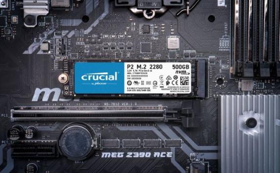 Crucial P2 NVMe M.2 SSD