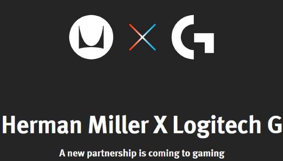 Herman Miller and Logitrech G partnership