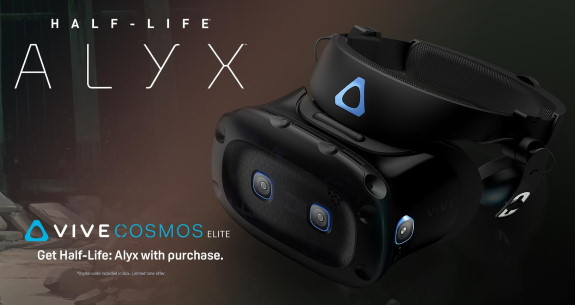 HTC Vive Elite Cosmos Alyx offer