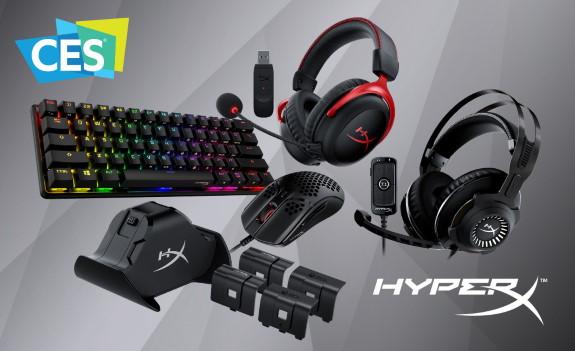 HyperX new stuff at CES 2021