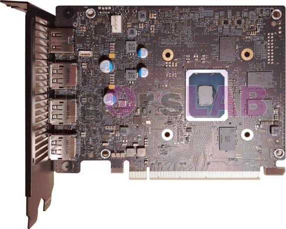 Intel Iris Xe Max card from Igor