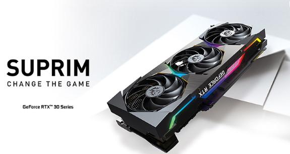 MSI GeForce RTX 30 SUPRIM