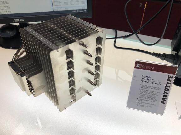 Noctua fanless processor cooler