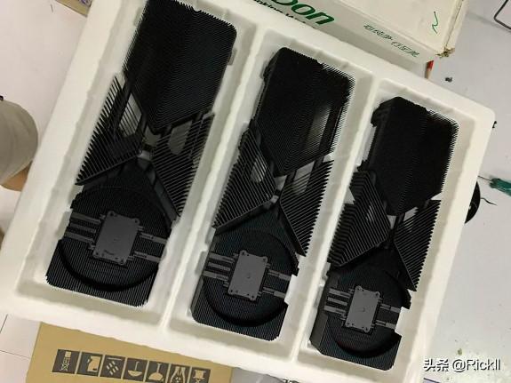 NVDA GeForce RTX 3080 heatsink design leak