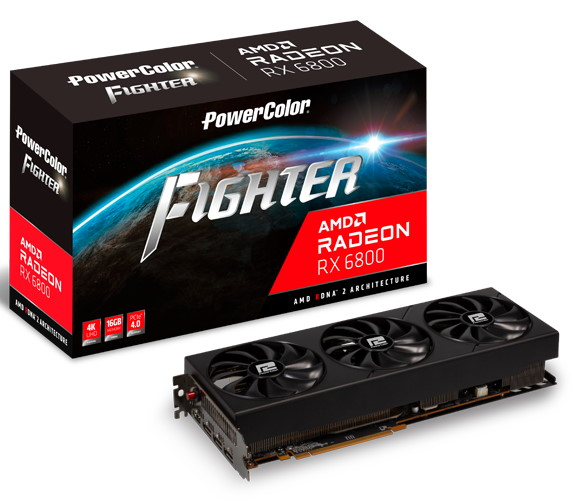 PowerColor Fighter RX 6800