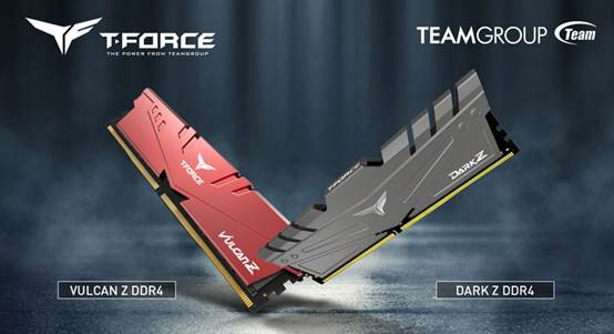 32GB T-FORCE VULCAN Z and DARK Z modules