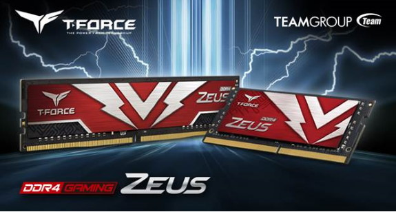 T-FORCE ZEUS DDR4 U-DIMM and SODIMM