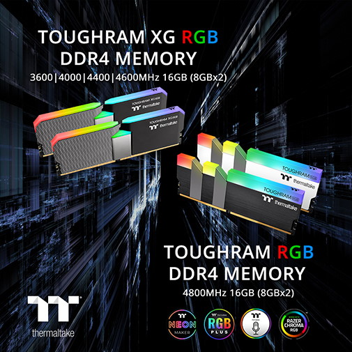 TOUGHRAM and TOUGHRAM XG RGB Series