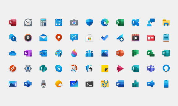 W10 new icons