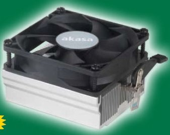 Akasa AK-865 cooler for AMD tri-core Phenoms