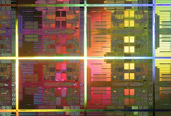 45nm quad-core die from AMD