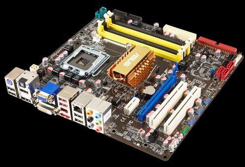 ASUS motherboard with the GeForce 9400M chipset