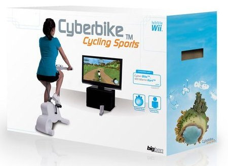 Wiii exercise bike lets you burn calories while playing ...