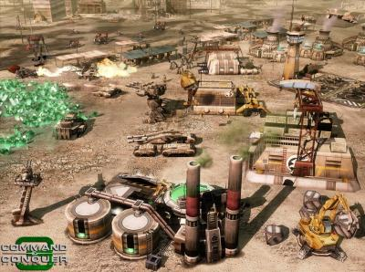 Command & Conquer 3 - Demo Performance