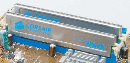 Corsair PC4400 memory modules