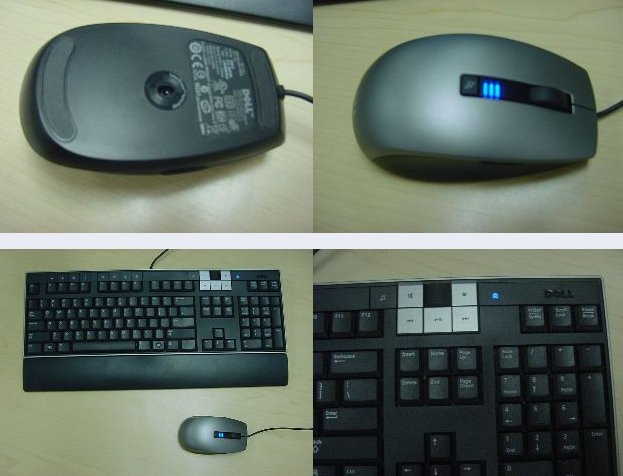 Dell Pre-Release Keyboard and Mouse Spyshots