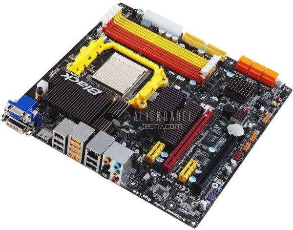 ECS A785GM-M ATI VGA Linux