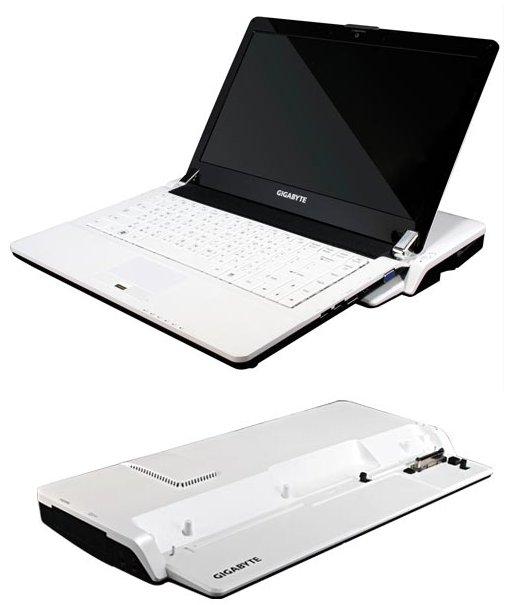 Gigabyte BookTop M1305: la scheda video esce fuori dal portatile
