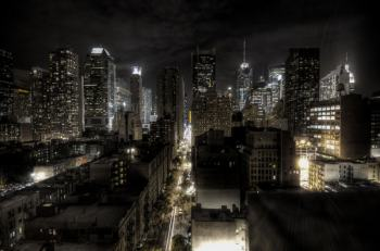 A HDR photo of New York