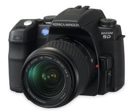 a new dSLR camera from Konica Minolta