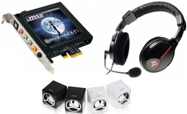 MSI SyrenSound X-Fi Audio Driver for Windows Download