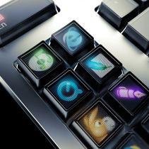 The original Optimus keyboard