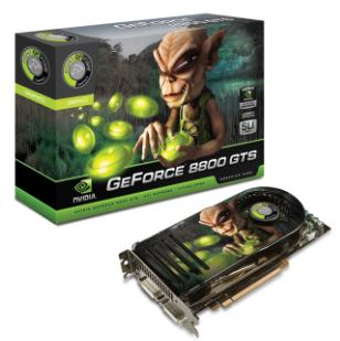 GeForce 8800 GTS 320MB now available