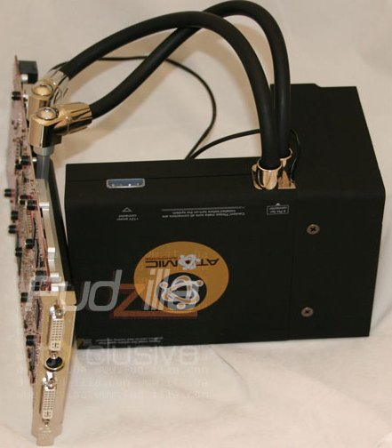 Sapphire's watercooled Radeon HD 3870 X2 pictured