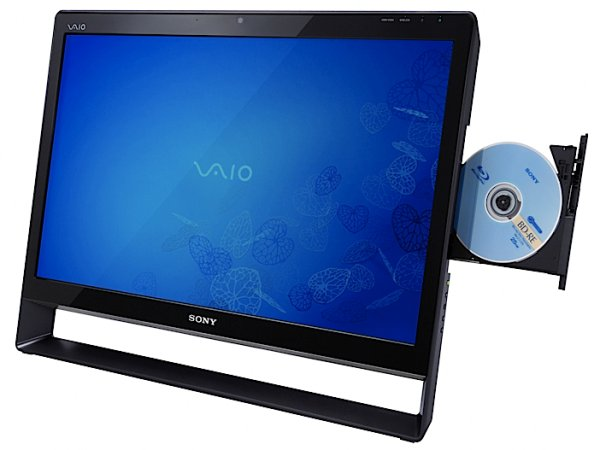Sony VAIO L touchscreen PC with Windows 7 unveiled