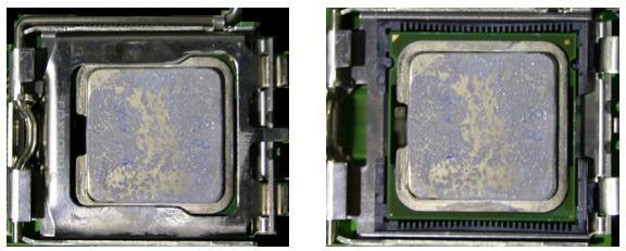 Tejas sample CPU in LGA 775 socket