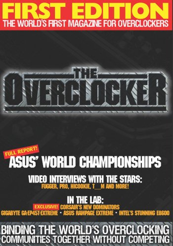 First edition of The Overclocker magazine now available